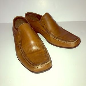 Steve Madden mens leather loafers New without box